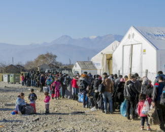 voluntariado campo de refugiados